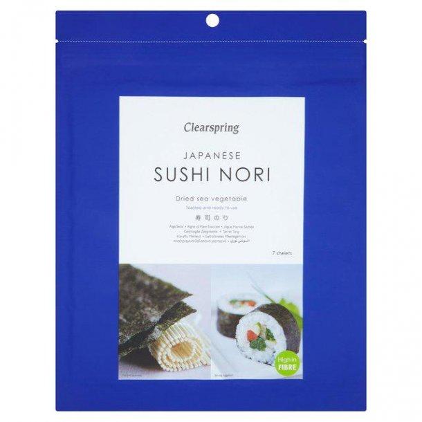 Sushi nori tang - 7 ark ristede sheets